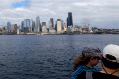 Downtown from West Seattle Water Taxi - 2